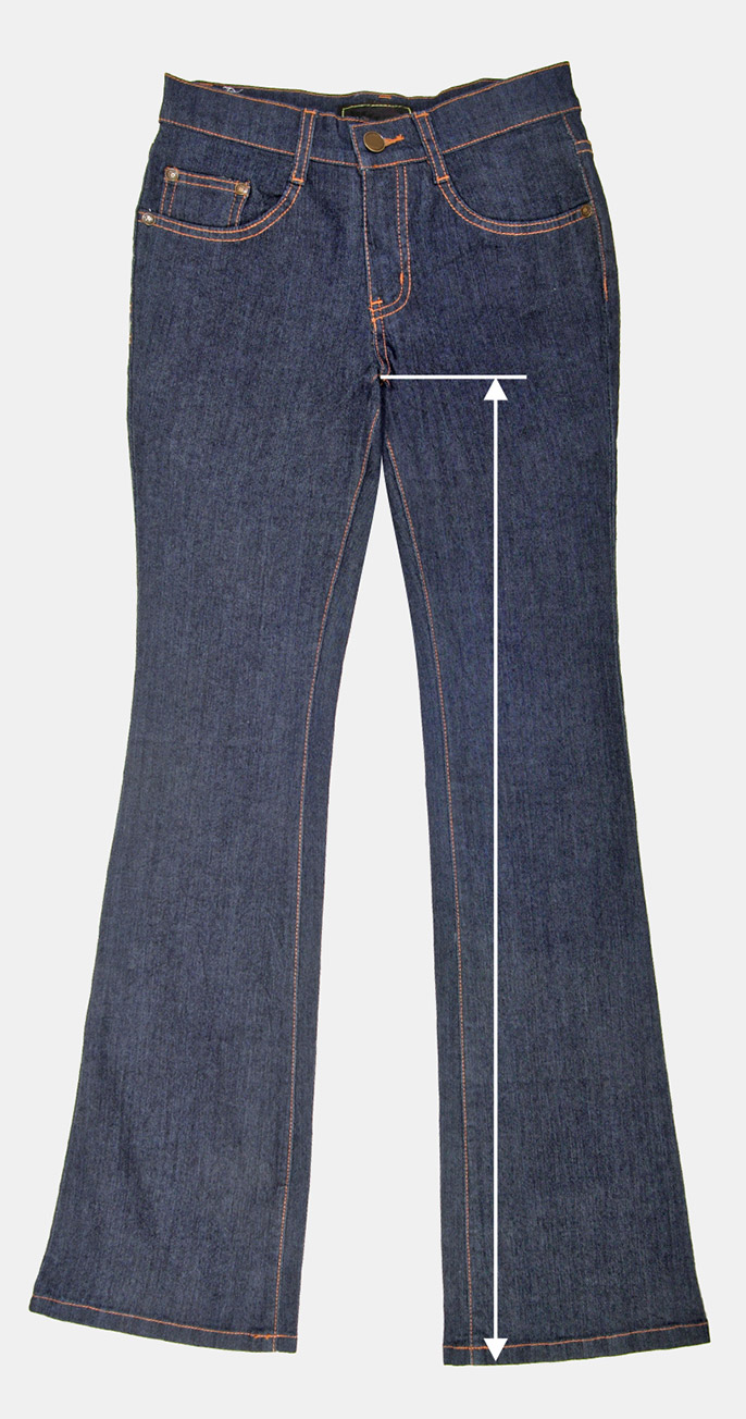 A person's inseam is the length of the inner leg, from the top of the thigh to the ankle. It is necessary to know this measurement when buying a pair of pants. Inseam measurement helps ensure an accurate.