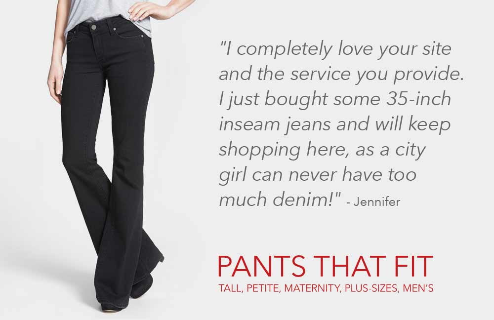 16db1ed68a078 Search by Inseam - Tall, Petite, Maternity, Plus-Sizes, Men's - Find ...
