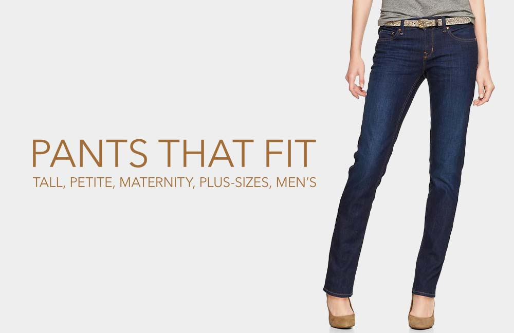 Find Pants That Really Fit